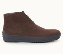 Desert Boots Winter Gommino aus Veloursleder