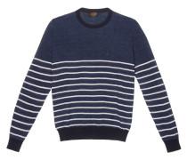 Pullover aus Baumwolle und Leinen