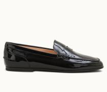 Loafer aus Lackleder