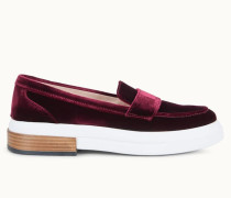Loafer aus Samt