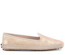 Gommino Slippers aus Veloursleder