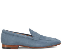 Loafer aus Veloursleder