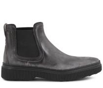 Chelsea Boots aus Spaltleder