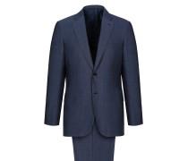 Marineblauer Anzug Brunico mit feinem Grisaille-Muster