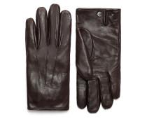 Dunkelbraune Handschuhe aus Nappaleder