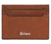 Braunes Kreditkartenetui