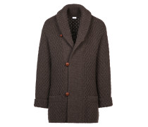 Brown Knitwear Jacket