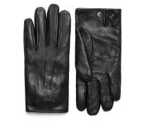 Schwarze Handschuhe aus Nappaleder