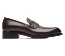 Braune Pennyloafers