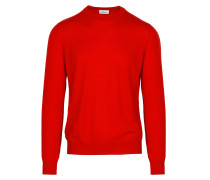 Roter Limited-Edition-Pullover aus Kaschmir