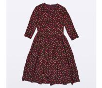 Seiden-Kleid mit Print
