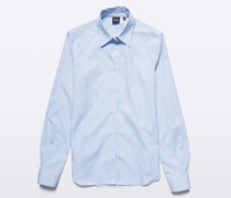 Chambray Baumwoll-Shirt
