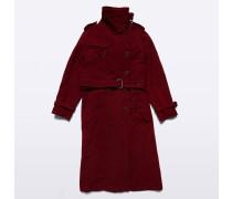 Trenchcoat aus Wolle