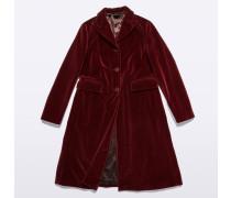 Mantel aus Samt und Baumwolle