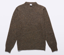 ROLLKRAGENPULLOVER AUS TWEED DONEGAL WOLLE