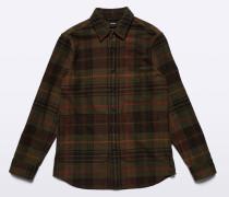 Hemdjacke aus schwerer Baumwolle