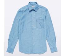 Shirt Sedici aus Chambray-Baumwolle