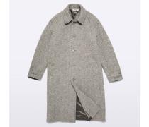Herringbone Mantel Perturbato aus Wolle