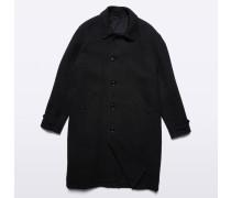 Mantel Perturbato aus Wollgemisch