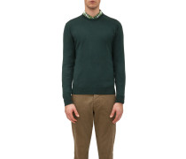 ROUNDNECK IN COTTON AND CASHMERE