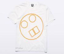 Garment-dyed T-Shirt Denton aus Baumwolle