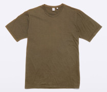 Garment-dyed Jersey T-shirt aus japanischer Baumwolle
