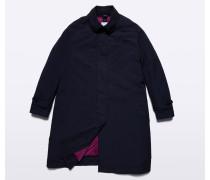 Garment-dyed Mantel Paprica aus Nylon