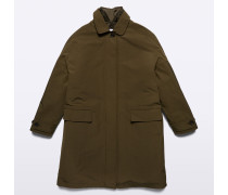 Mantel Rabarbaro aus technischer Baumwolle
