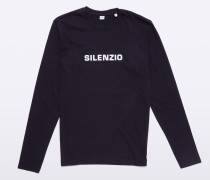 Baumwoll T-Shirt Silenzio