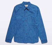 Japanisches Chambraybaumwoll Ut-Shirt