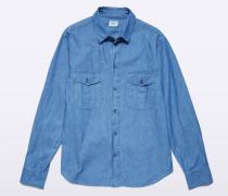 Shirt Raf aus Chambray-Baumwolle