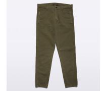 Garment-dyed Hose Funzionale aus Baumwolle