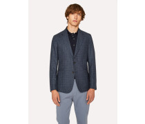 Tailored-Fit Loro Piana Navy Dream Tweed Blazer