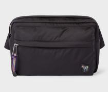 Black 'Zebra' Logo Bum Bag