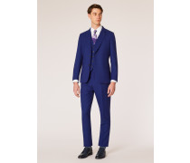 The Soho - Tailored-Fit Indigo Three-Piece 'A Suit To Travel In'