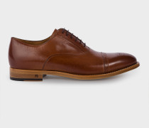 Tan Brown Leather 'Berty' Shoes