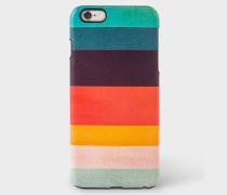 Artist Stripe Leather iPhone 6 Plus Case