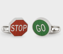 'Road Sign' Cufflinks