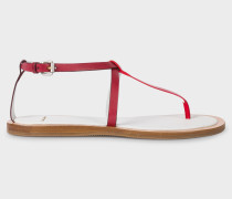 Red 'Ryde' Sandals