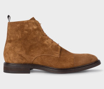 Brown Suede 'Jarman' Boots