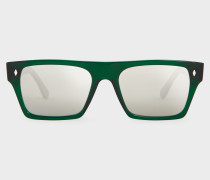 Cutler And Gross + - Park Green Sunglasses - Limited Edition