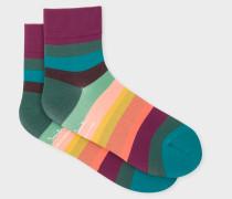 'Artist Stripe' Cycling Socks