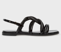 Black Suede 'Carlin' Sandals