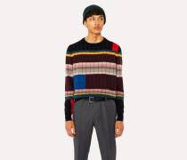 Anni Albers x - Geometric Stripe Cashmere Sweater