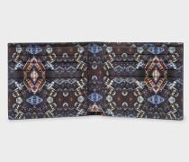 Black 'Mini Kaleidoscope' Print Interior Billfold Wallet