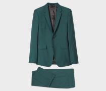 The Kensington - Slim-Fit Dark Green Wool-Mohair Suit