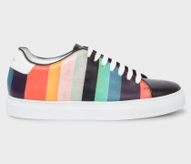 'Artist Stripe' Leather 'Basso' Trainers