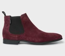 Bordeaux Suede 'Falconer' Chelsea Boots