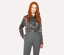 Black 'Jewels' Print Shirt