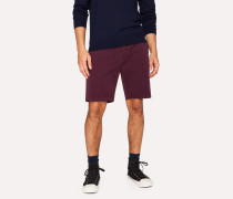 Damson Garment-Dyed Stretch Pima-Cotton Shorts